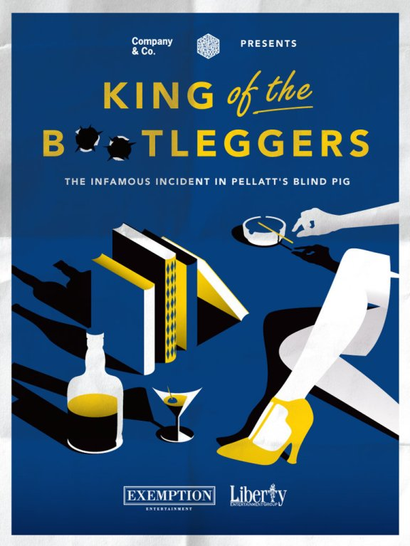 Toronto - Casa Loma - King of the bootleggers - poster.jpg