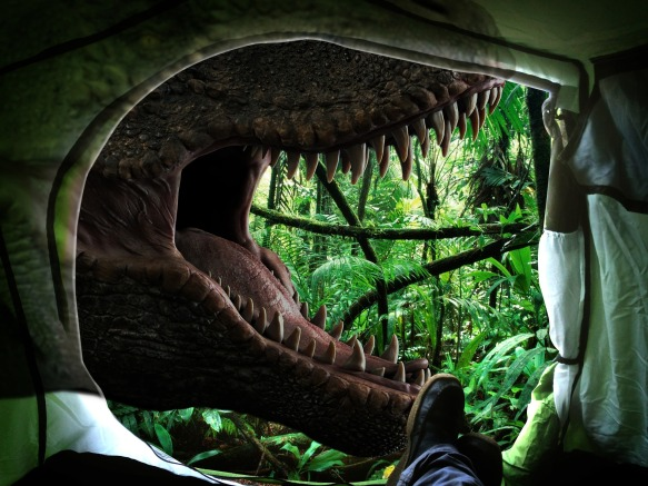 Washington - Escape the Room - Jurassic Escape - tent.jpg